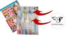 """By Dziubeka w magazynie """"Chwila dla Ciebie"""" #bydziubeka #jewerly # #fashion #style #magazine #pressroom #press"""