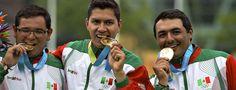Oro y plata para México en Tiro con Arco