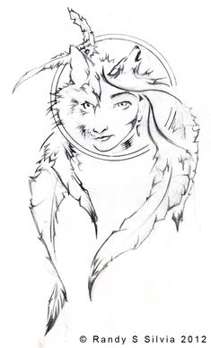 Brother Wolf and Sister Moon Tattoo Design by *Ransolo on deviantART