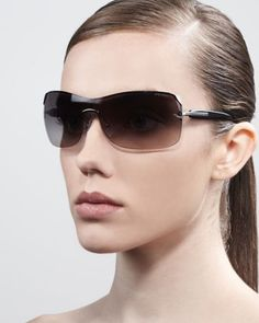 d17b985bf7dc Prada Timeless Shield Sunglasses