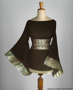 #Kimori based on #kimono & #haori   Italian stylist #astriaha