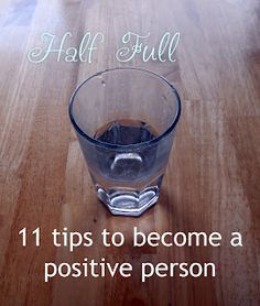 Prettiful Designs: Becoming a Positive Person - 11 Helpful Steps. Good tips; to apply to more people I suggest and alternate idea of meditation/self reflection in place of prayer or simply asking the universe for what is needed:  strength, patience, peace.