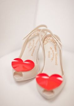 cf1aa070adf Vivienne Westwood heart shoes - I need at least ten pairs - haha! Just  joking. I abso love these.