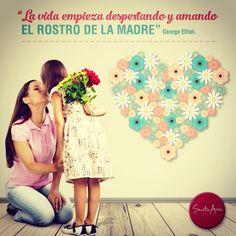 Porque nos trajeron al mundo, nos cuidaron y nos aman incondicionalmente, homenajeamos a las madres durante todo el mes.  #MamáEsUnaFlor. #Madres #Amor #Love #Bogotá #VenASantaAna