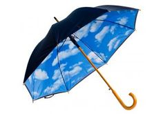 Do you ever want to see blue skies on a rainy day? Now you can with our Auto-Open Perfect Day Print Hand Held Umbrella! http://www.umbrellasource.com/product/auto-open-perfect-day-print-umbrella