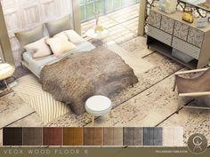 Pralinesims' VEOX Wood Floor 6
