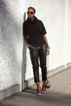 Love The Classic Black // Honey In My Heels #fashion #streetstyle #blogger #ootd