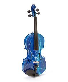 Love this Blue Lightning Violin Set on #zulily! #zulilyfinds who wouldn't want to practice with this!?