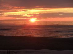 Sunsets at Port Crescent Michigan