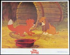 Two childhood friends find themselves forced to become enemies. A Disney Animation Classic from 1981 Disney Animation, Animation Film, Disney Animated Films, The Fox And The Hound, Childhood Friends, Sale Poster, Film Posters, Enemies, The Originals