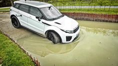 2016/2017 Range Rover Evoque Test Drive Offroad Testing Review