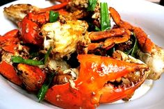 Filipino Adobong Alimango Recipe (Stewed Mud Crabs) http://www.pinoyrecipe.net/filipino-adobong-alimango-recipe-stewed-mud-crabs/