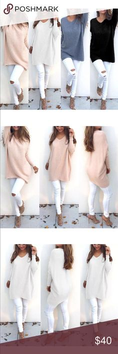 561667feab51 ✂️Clearance!  The Samantha  Oversized Knit sweater Boutique