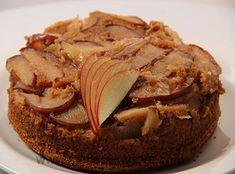 Eggless Apple Upside Down Cake http://www.sanjeevkapoor.com/Recipe/Eggless-Apple-Upside-Down-Cake-Sanjeev-Kapoor-Kitchen-FoodFood.html
