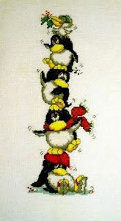 Penguin Tower Pattern
