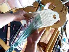 Double Hole Tape Loom weaving