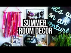 ▶ DIY Summer Room Decor! Cute Room Accessories & Wall Decor | LaurDIY - YouTube
