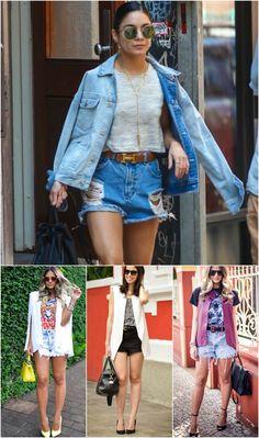 Como usar short jeans cintura alta / luvmay.com.br