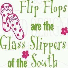 Love my flip flops!