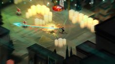 Creators of Bastion reveal their next game Transistor. check out the images and promo video of Transistor game. the Transistor game set to release in Geek Games, Ps4 Games, Transistor Game, Isometric Art, Game Interface, Game Calls, Indie Games, Box Art, Game Design