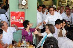 El gobernador de Veracruz, Javier Duarte de Ochoa, pasó una tarde de convivencia con los ciudadanos del Puerto de Veracruz.