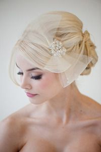 Image of Bridal Fascinator - CHARLOTTE