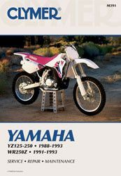 Twin air 152213 dual stage air filter for yamaha yz 125 250 450 clymer m391 service repair manual for yamaha yz125 yz250 yz250wr wr250z fandeluxe Images