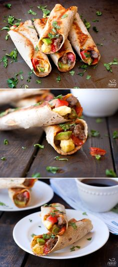 Breakfast Taquitos