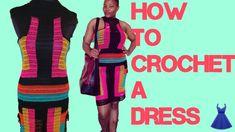 HOW TO CROCHET A DRESS /summer dress/beach cover up.