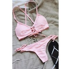 eea408a191f1f  14.99 Cute Summer wear Pink Bikini Set for Women   Teens. Get Additional  10%