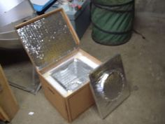 Solar cooking: Hay box without hay DIY