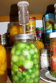 The Wallace Homestead ~ Cackleberry Hollow: Lacto Fermented Green Tomato Pickles