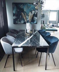 Home Room Design, Elegant Dining Room, Luxury Dining Room, Luxury Home Furniture, Dining Room Decor, Dining Room Interiors, Dining Room Decor Modern, Apartment Decor, Home Living Room