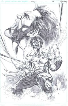 Weapon X by Stephen Segovia *