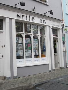 bde3e553 This bookshop in Scotland was small but offered a very pleasant stop with  lots of staff recommendations throughout the store.