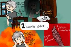 this. this is fummy because it is probaly what happened. school for good and evil rafal and storian