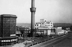 Prague-Vysočany, Incineration Plant, 1934 | arch. František Roith