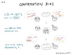 CONFIRMATION BIAS part 2This logical fallacy helps us understand why we should be cautious of data that seems to immediatelly support our perspectives and beliefs.More on this topic, but please be cautious about what you are reading :Phttps://www.fs.blog/2017/05/confirmation-bias/