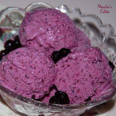 Inghetata raw de afine / Raw blueberry ice cream - Madeline's Cuisine