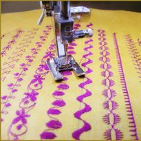 All About Decorative Stitches   Project || Sew Mama Sew