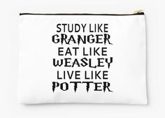 Pencile pouch for the Harry Potter nerd in all of us