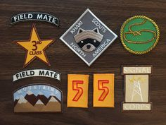Moonrise Kingdom Iron on Khaki Scout patches by LimesShop on Etsy