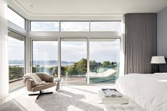 Amazing bedroom with view, http://decorextra.com/briarcliff-manor-residence-by-dsa-builders/
