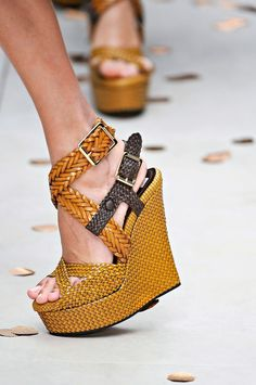 Shoes woven into our dreams.