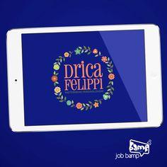 Está pensando em ter uma lembrancinha diferente em sua festa/evento? Conheça a @dricafelippirasteirinhas, a qual desenvolvemos a #IdentidadeVisual da empresa, junto com toda a parte gráfica visual.   Por ser uma empresa de lembrancinhas personalizadas, pensamos em uma marca mais descontraída e delicada. Curtiram?  #JobBamp #Bamp #CreativeGroup #Design #Marketing e #Criatividade