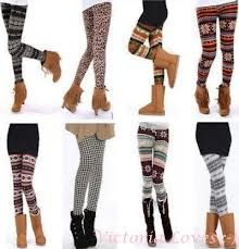 print leggings to match ugg boots in winter