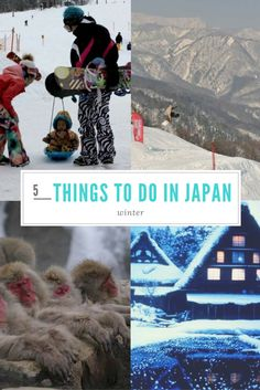 5 BEST PLACES TO VISIT IN JAPAN IN WINTER. Thinking of visiting Japan in winter? Well, I can tell you that winter in Japan is like a fairytale, with snow-covered slopes. Here are five best places to visit in Japan in winter.