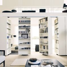 An uncluttered house makes for a relaxed state of mind, not to mention more space. Here are four stylish storage solutions to help you stay organised. Ikea Design, Ikea Room Divider, Room Dividers, Murs Mobiles, Movable Walls, Showroom Interior Design, Cuisines Design, Cool Walls, Elle Decor