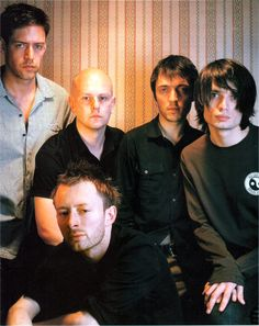 #Radiohead 1998 - Session for australian Rolling Stone - By Robin Sellic