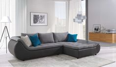 Modern Simple Sectional Sofa Sleeper With Storage And Purple